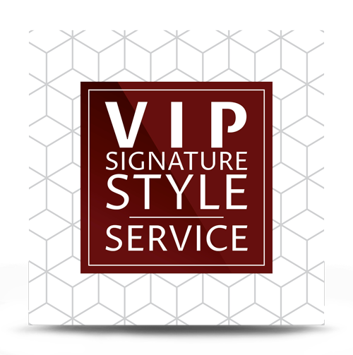 Vip Signature Style Service For Him