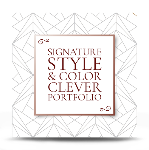 Signature Style & Colour Clever Portfolio For Her