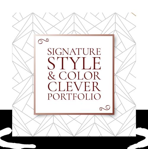 Signature Style & Colour Clever Portfolio For Her