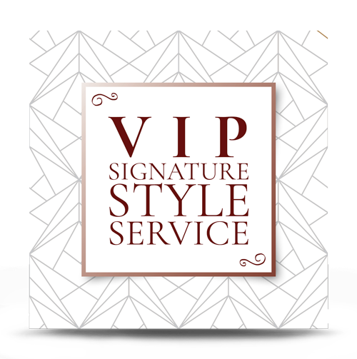 Vip Signature Style Service For Her